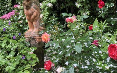 Ein schöner Garten wischt den Staub des Alltags von der Seele